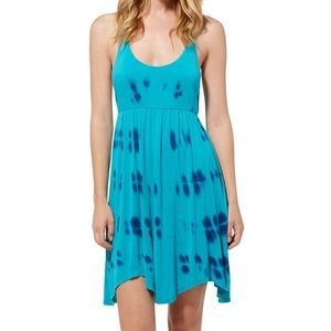 Roxy Joy Dance Tie Dyed Strappy Babydoll Dress